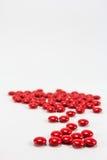 Czerwone cukrowe żakiet pastylki żadny 2 zdjęcie stock