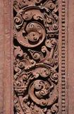czerwone cyzelowanie kamień Fotografia Stock