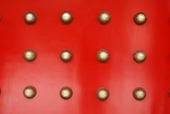 czerwone drzwi. Zdjęcia Stock