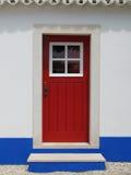 czerwone drzwi Zdjęcie Stock