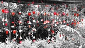 czerwone dzwony Obraz Stock