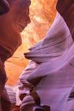 Czerwone fala piaskowiec fotografia royalty free