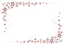 czerwone gwiazdy Obrazy Royalty Free