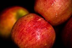 czerwone jabłka obraz stock