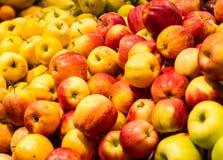 czerwone jabłka Zdjęcia Stock