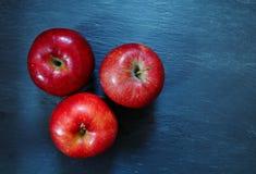 czerwone jabłka Obrazy Royalty Free