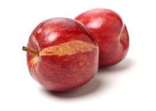 czerwone jab?ka obraz stock