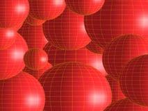 czerwone jaja Zdjęcie Stock