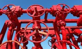 czerwone klapy obraz stock