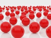 czerwone kuli Obraz Stock