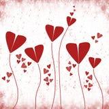 czerwone miłość Fotografia Stock
