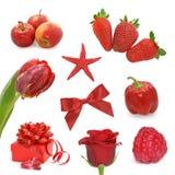 czerwone obrazy Zdjęcia Stock