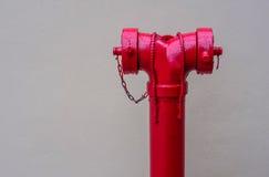 Czerwone Pożarnicze pompy Obraz Royalty Free