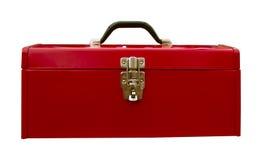 czerwone pudełko narzędzia Obrazy Stock