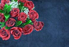 czerwone róże ilustracja wektor
