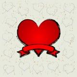 czerwone serce ilustracji