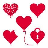 czerwone serce royalty ilustracja