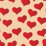 czerwone serce Zdjęcia Stock