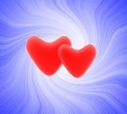 czerwone serce Obrazy Stock