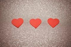 czerwone serce Obraz Royalty Free