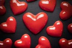 czerwone serce Zdjęcia Royalty Free