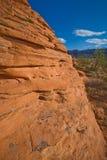 czerwone skały Obrazy Stock