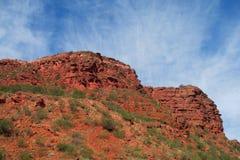 czerwone skały fotografia stock