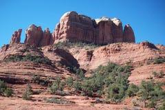 czerwone skały Zdjęcia Stock