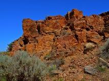 czerwone skały Zdjęcie Royalty Free
