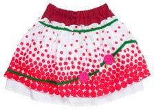 czerwone spódnica Zdjęcia Stock