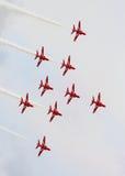 czerwone strzała Zdjęcie Royalty Free
