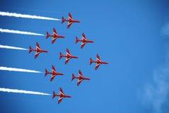 Czerwone Strzała, Eastbourne Zdjęcia Stock