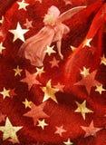 czerwone tło świąteczna Zdjęcia Royalty Free