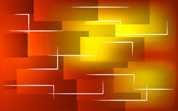 czerwone tło abstrakcyjne żółty Zdjęcia Royalty Free