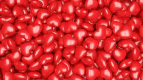 czerwone tło serca obraz royalty free