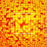 czerwone tło piksli technologii Zdjęcie Stock