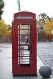 Czerwone telefonu pudełka losu angeles Recoleta Buenos Aires Argentyna ameryka łacińska Ameryka Południowa ładny Zdjęcie Stock