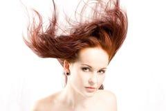 czerwone włosy Zdjęcie Stock