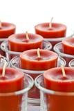 Czerwone świeczki Obraz Royalty Free