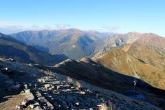 Czerwone Wierchy, Tatra Mountains, Poland Royalty Free Stock Photos