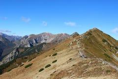 Czerwone Wierchy, Tatra Mountains, Poland Stock Photography