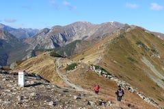 Czerwone Wierchy, Tatra Mountains, Poland Stock Images