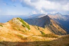 Czerwone Wierchy, Tatrzańskie góry Obrazy Royalty Free