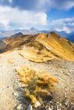 Czerwone Wierchy, Tatrzańskie góry Zdjęcie Stock