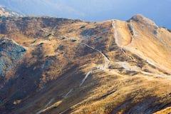 Czerwone Wierchy, Tatrzańskie góry Fotografia Royalty Free
