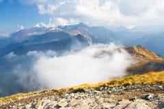 Czerwone Wierchy, Tatrzańskie góry Obraz Royalty Free