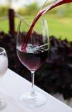 czerwone wino Obrazy Stock