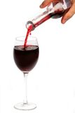 czerwone wino Zdjęcie Stock