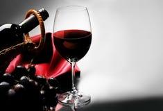 czerwone wino obraz stock