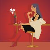 Czerwone wino Obraz Royalty Free